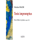 Trois impromptus for flute and piano