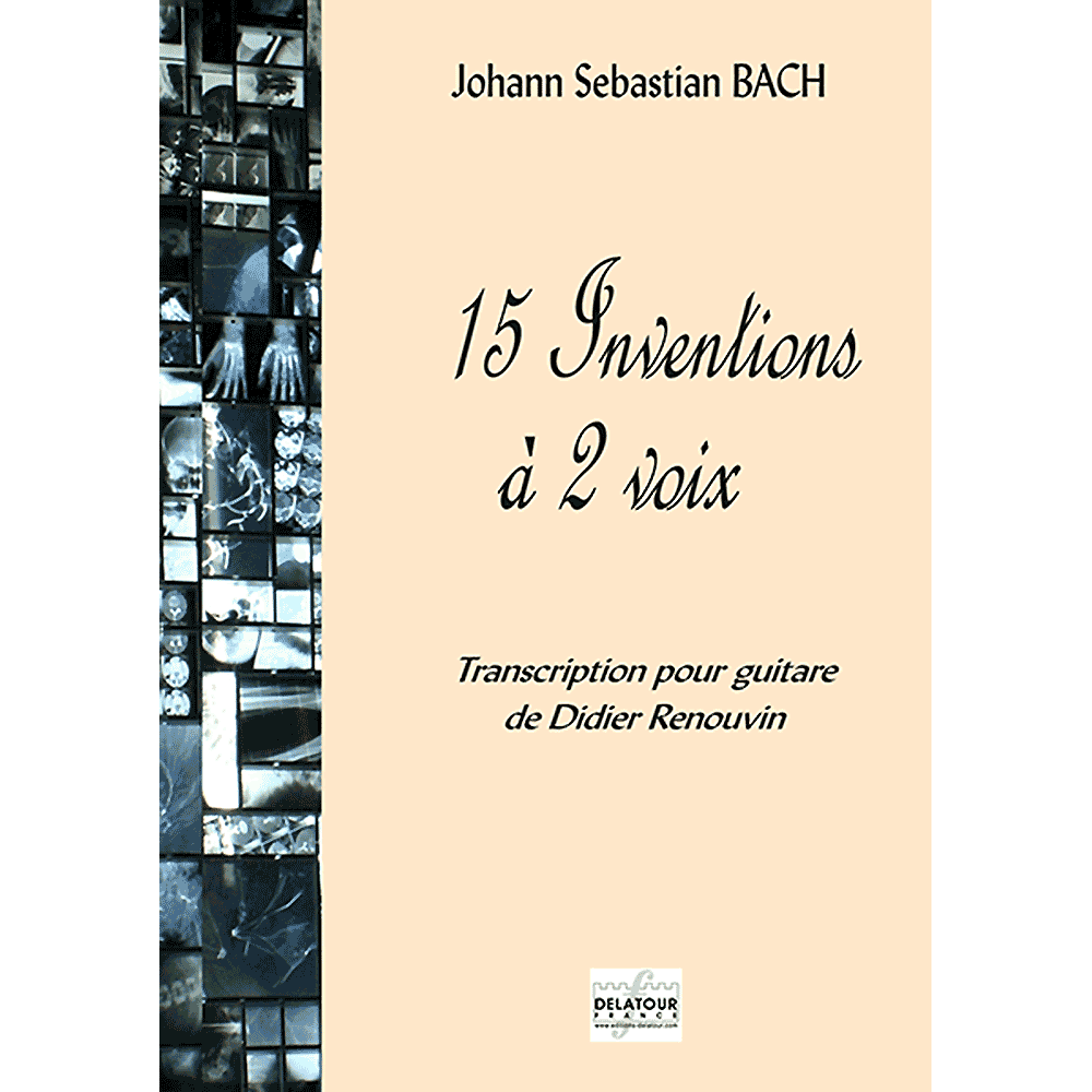 15 inventions BWV 772-786 for guitar solo