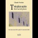 Trois pièces sacrées for mixed choir a cappella