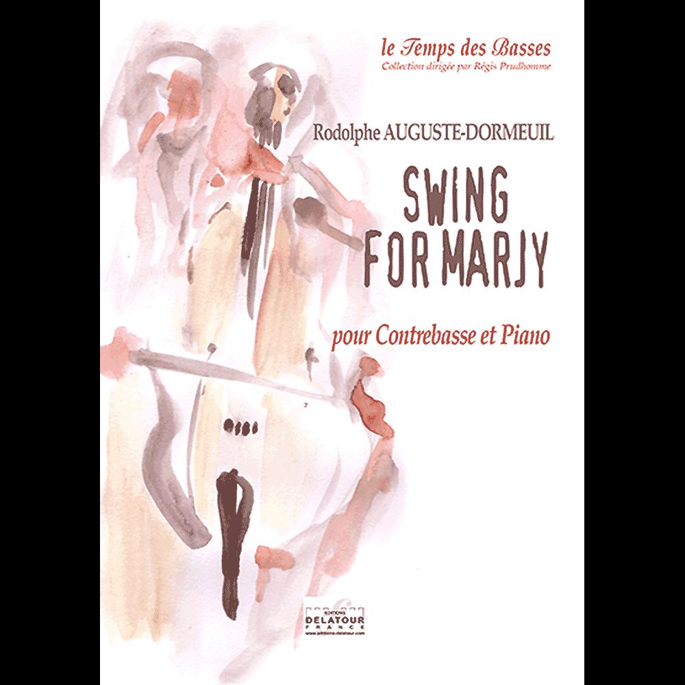 Swing for Marjy für Kontrabass und Klavier