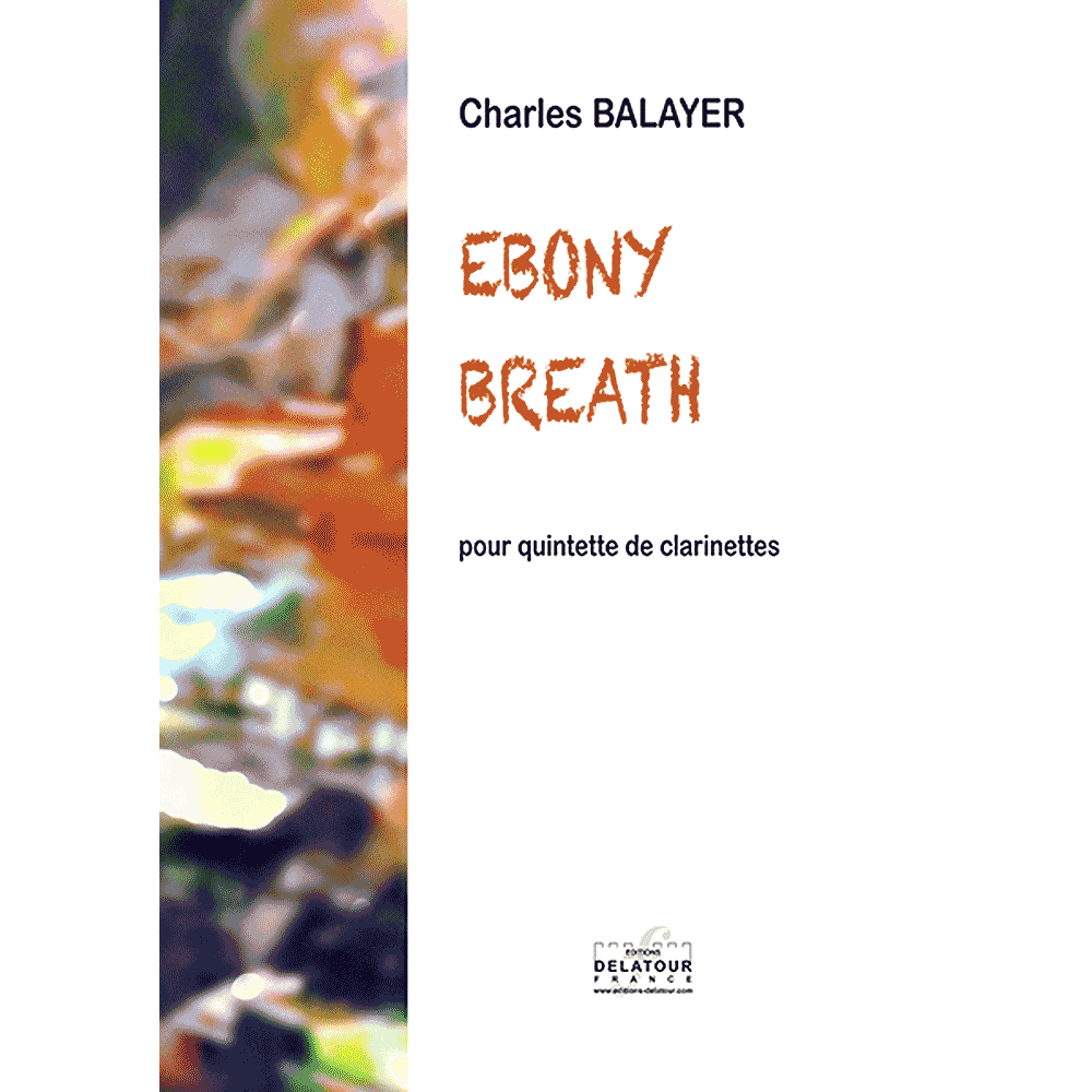 Ebony breath for clarinet quintet