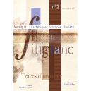 Revue Filigrane n°2 - Traces d'invisible