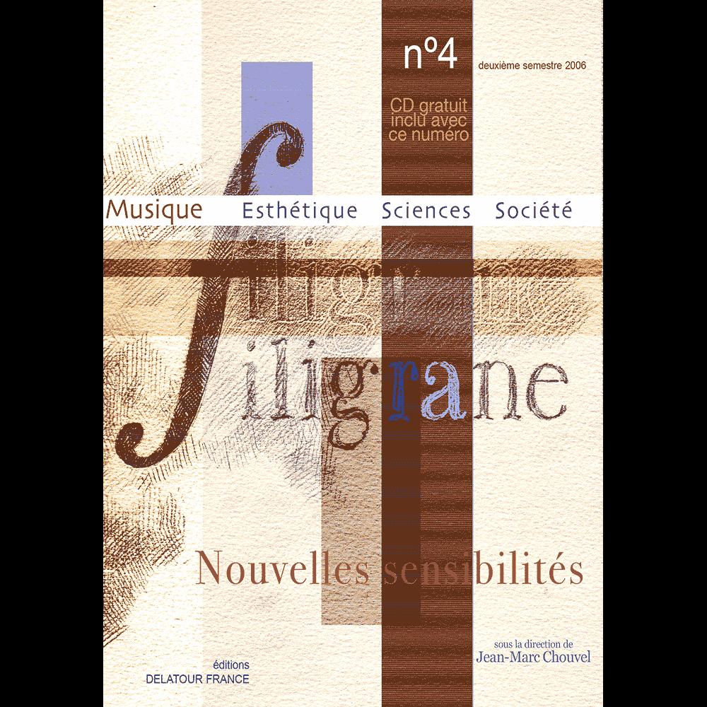 Revue Filigrane n°4 - Nouvelles sensibilités