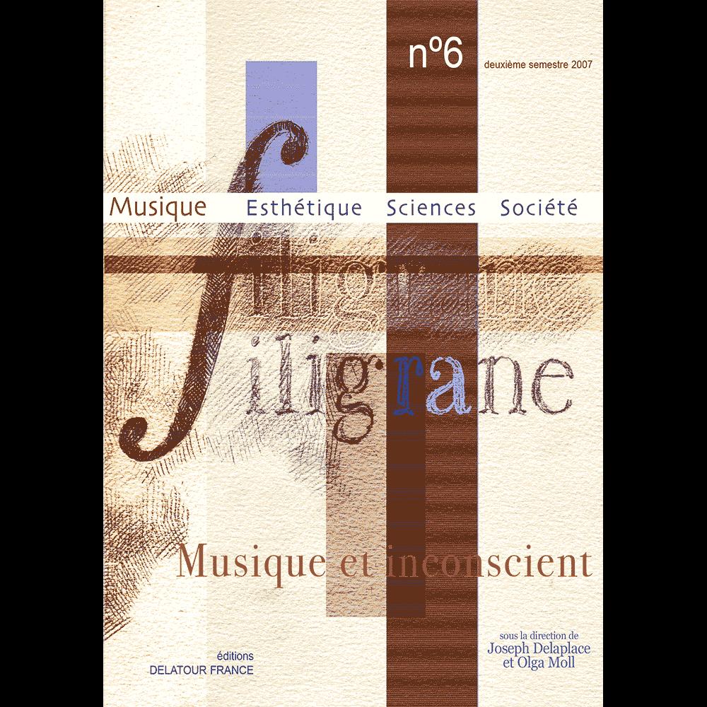 Revue Filigrane n°6 - Musique et inconscient