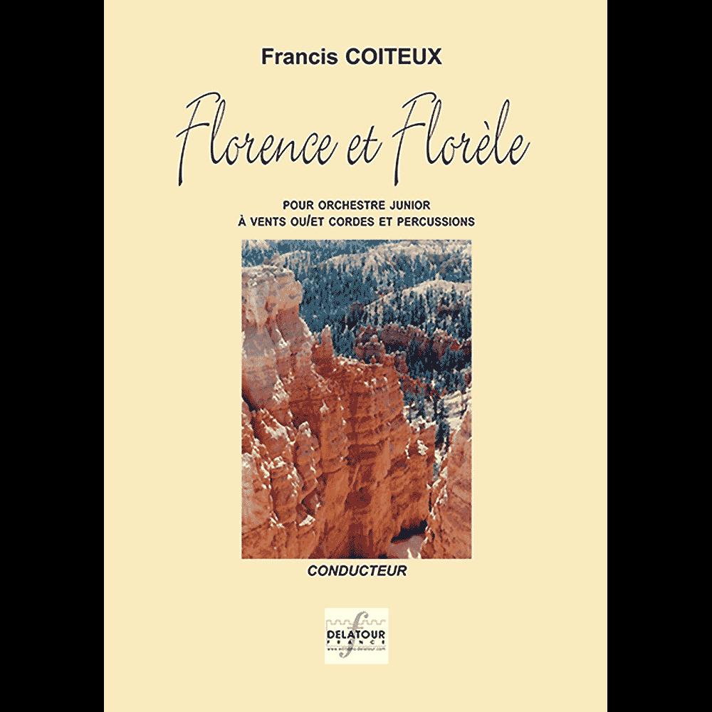 Florence et florele für Blasorchester (MATERIAL)