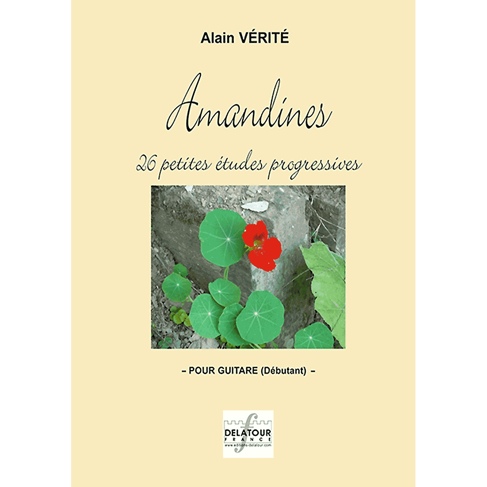 Amandines for guitar