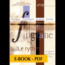 Revue Filigrane n°10 - Le Rythme - E-book PDF