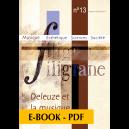 Revue Filigrane n°13 - Deleuze et la musique - E-book PDF
