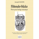 Flotenuhr Stucke for manual organ (simplified version for beginners)