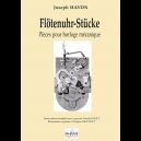 Flötenuhr-Stücke pour orgue manuel (version simplifiée pour débutants)